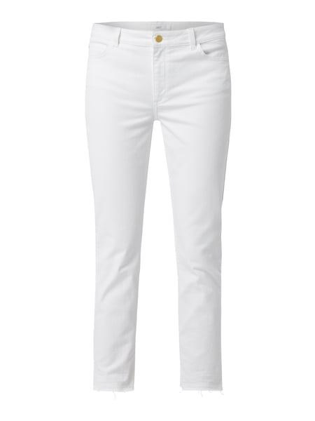 Jake*s Collection Coloured Slim Fit Jeans Weiß