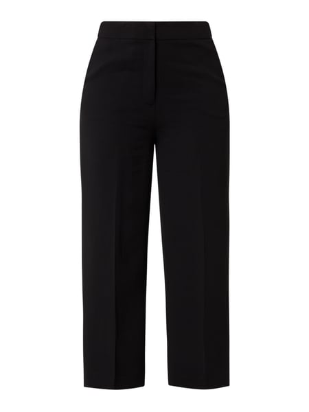 Jake*s Collection Cropped Stoffhose mit Stretch-Anteil Schwarz - 1