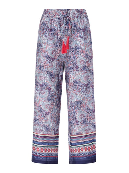 Jake*s Collection Culotte mit Paisley-Dessin Rosa - 1