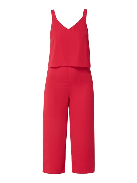 Jake*s Collection Jumpsuit mit verkürztem Bein Rosa - 1