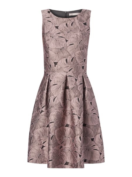 f9784aa59325db jakes-collection kleid mit jacquardmuster in lila online kaufen