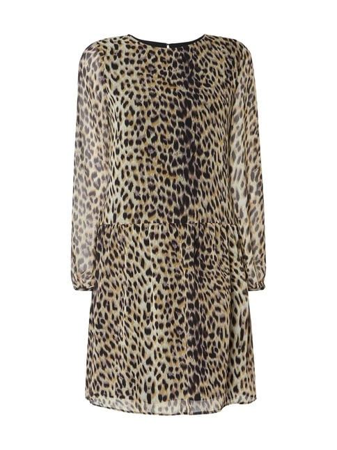 Jake s Collection Kleid mit Leopardenmuster Weiß - 1 Kleid mit  Leopardenmuster Jake s Collection online kaufen ... ea66695b88