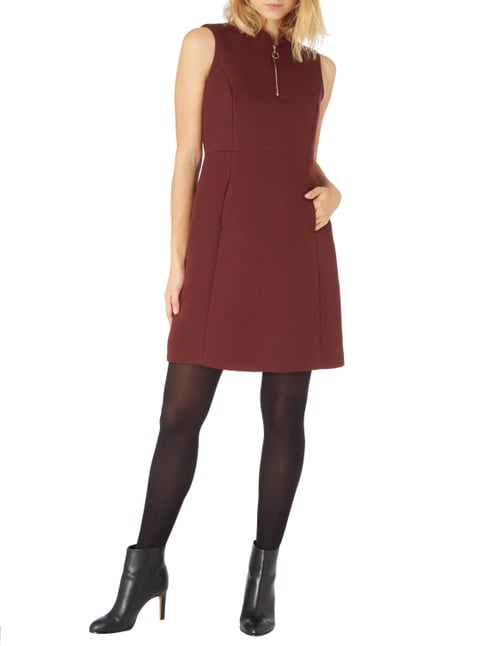 Jake*s Collection Kleid mit wellenförmigem Muster in Rot - 1