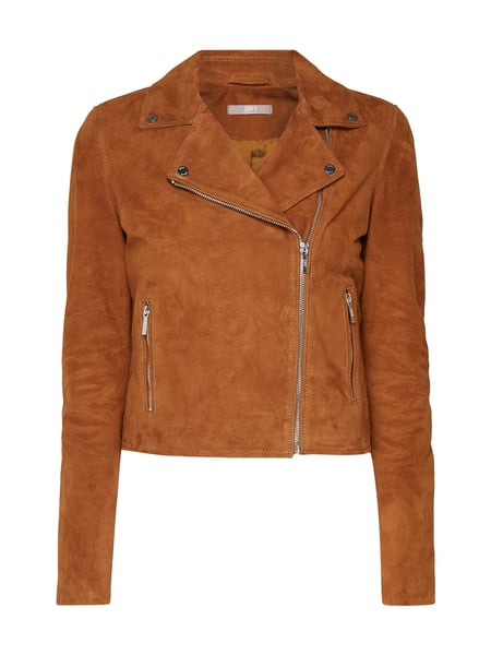Jake*s Collection Lederjacke im Biker-Look Braun - 1