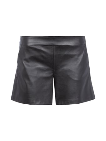 Jake*s Collection Shorts in Leder-Optik Schwarz - 1