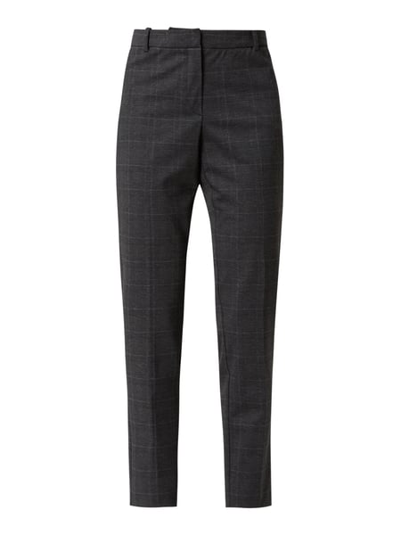 Jake*s Collection Slim Fit Stoffhose mit Stretch-Anteil Grau - 1