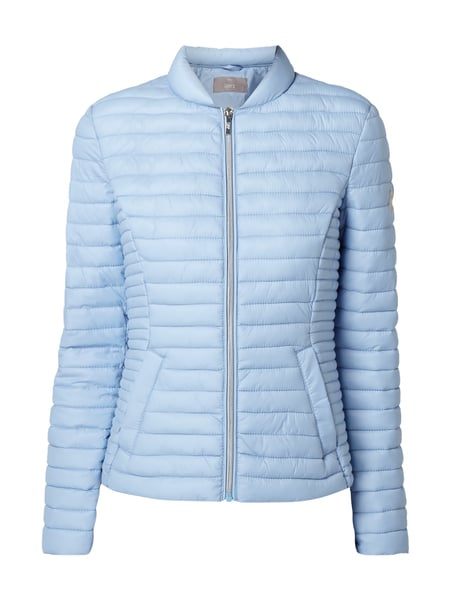 Jake*s Collection Steppjacke mit Stehkragen - wattiert Bleu