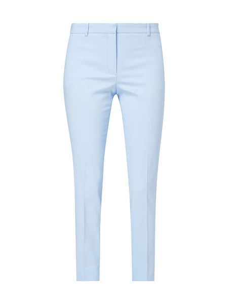 Jake*s Collection Stoffhose mit Stretch-Anteil Bleu