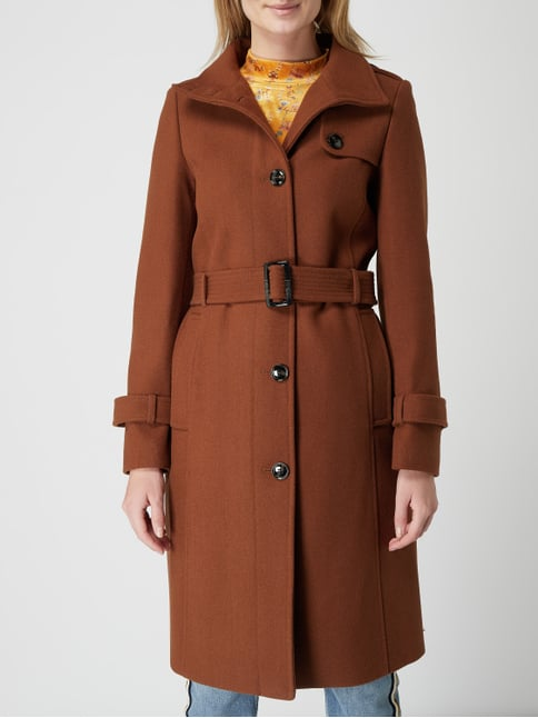 official photos fe7f5 4a4e2 Trenchcoat aus Wollmischung
