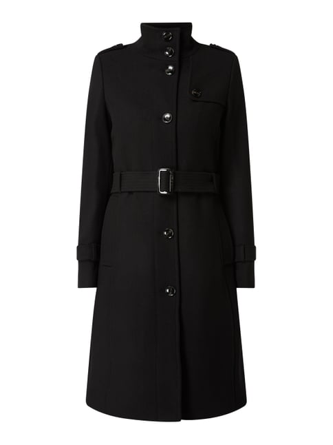 official photos e5a86 bc0c9 Trenchcoat aus Wollmischung