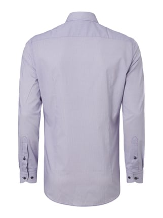 Jake*s Slim Fit Business-Hemd mit Allover-Muster Lila - 1