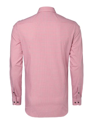 Jake*s Slim Fit Business-Hemd mit Haifischkragen Pink - 1