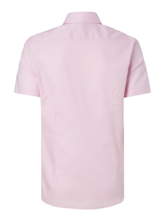 Jake*s Slim Fit Business-Hemd mit kurzem Arm Rosa - 1