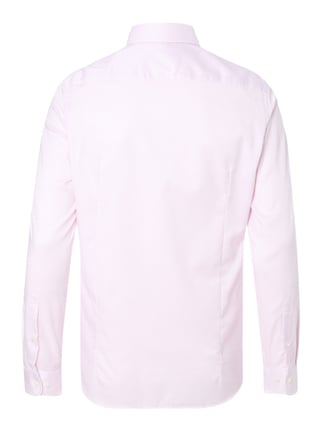 Jake*s Slim Fit Business-Hemd mit Webmuster Rosa - 1