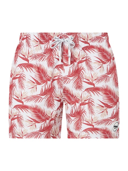 JOOP! Collection Badehose mit Allover-Muster Rot - 1