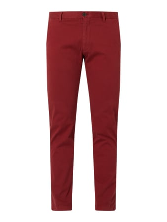 JOOP! Collection Slim Fit Chino mit Stretch-Anteil Modell 'Estos' Rot - 1