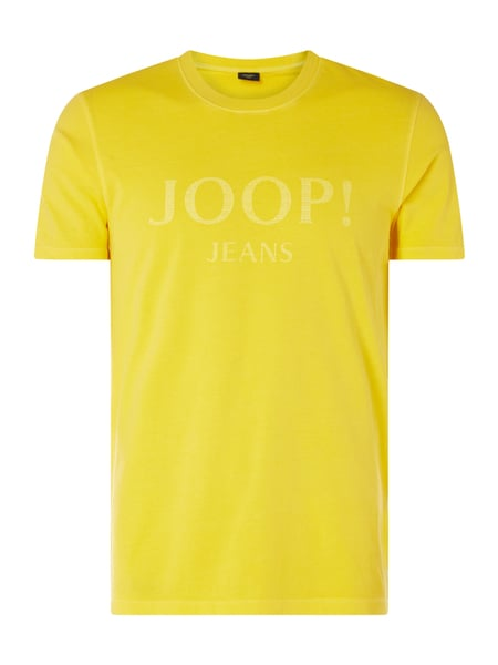 JOOP! Collection T-Shirt im Washed Out Look Modell 'Ambros' Gelb - 1
