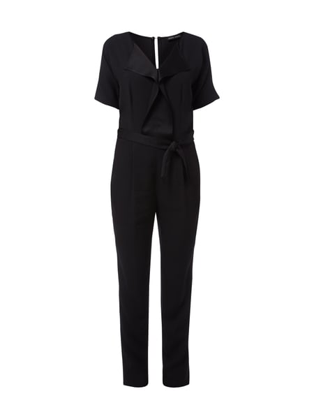 joseph janard jumpsuit aus feinem krepp in grau schwarz online kaufen 9470988 p c online shop. Black Bedroom Furniture Sets. Home Design Ideas