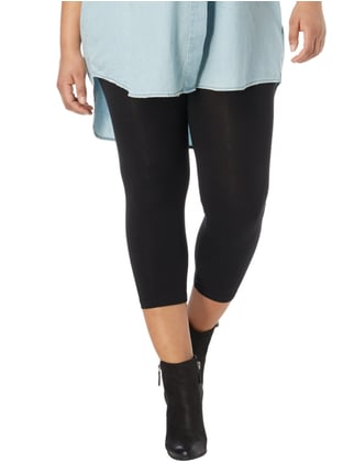 Junarose PLUS SIZE - Leggings mit Stretch-Anteil Schwarz - 1