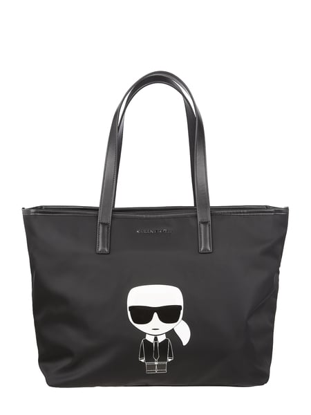 Karl Lagerfeld Shopper met logo-applicatie Zwart - 1