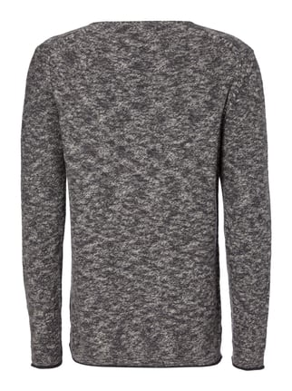 Key Largo Pullover in Melangeoptik Anthrazit meliert - 1
