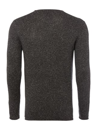 Key Largo Pullover mit dekorativem Pilling-Effekt Anthrazit - 1