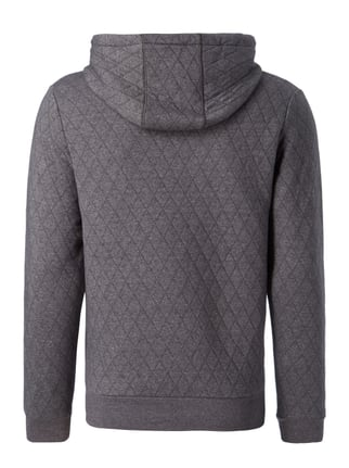 Key Largo Sweatjacke mit Steppnähten Anthrazit - 1