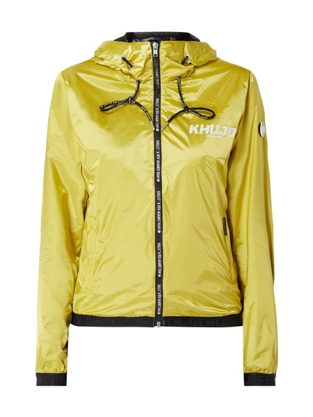 khujo Jacke in Metallic-Optik Gelb - 1