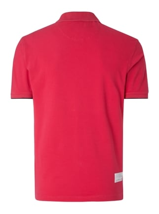 La Martina Regular Fit Poloshirt mit Logo-Stickerei Fuchsia - 1