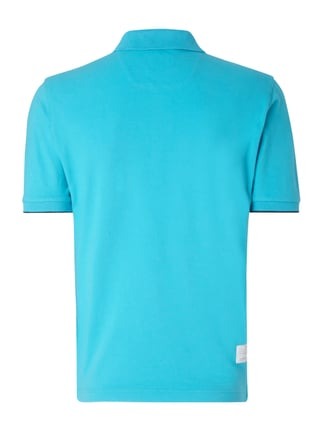 La Martina Regular Fit Poloshirt mit Logo-Stickerei Türkis - 1