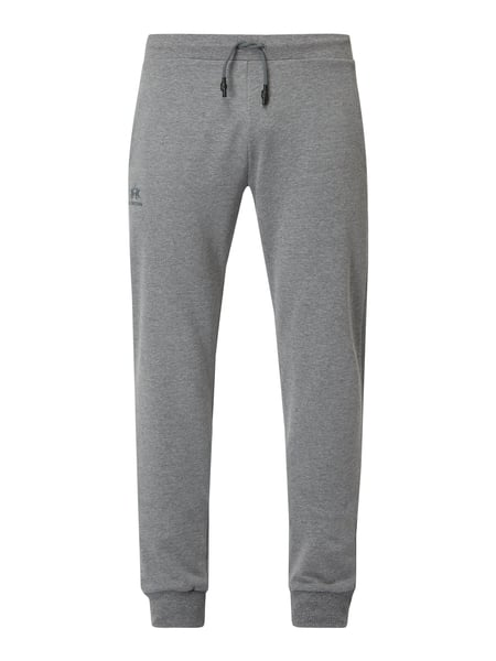 La Martina Sweatpants in lockerer Passform mit Logo-Print Grau - 1
