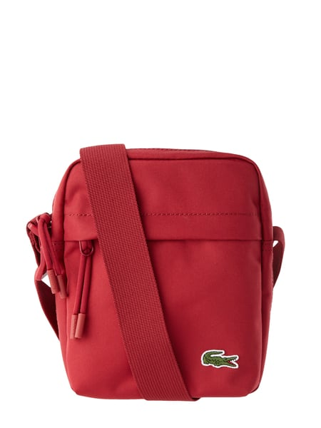 Lacoste Camera Bag mit Logo-Applikation Rot - 1
