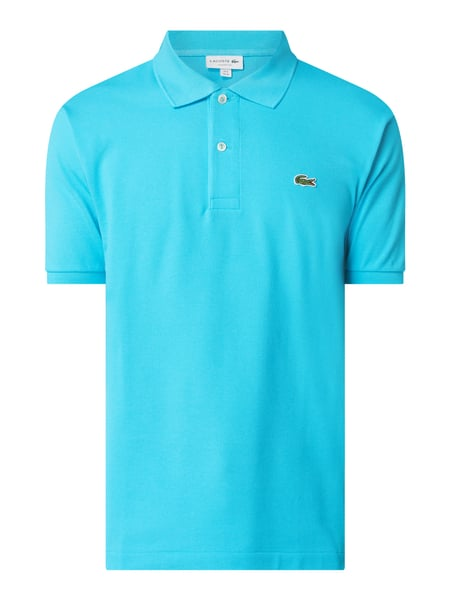 Lacoste Classic Fit Poloshirt aus Baumwolle Türkis - 1