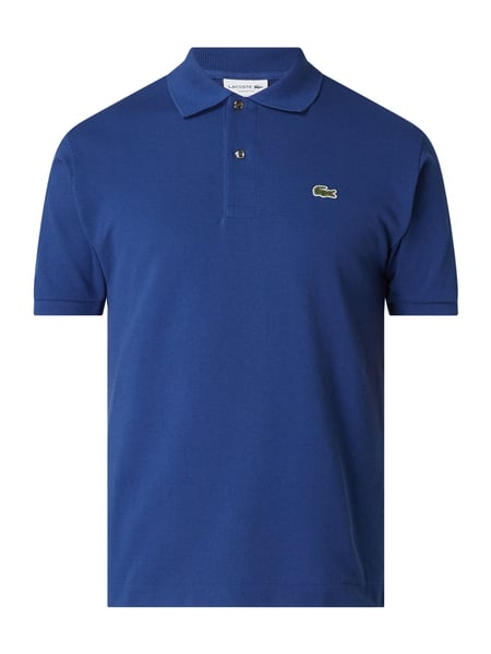 Lacoste Classic Fit Poloshirt mit Logo-Badge Blau - 1