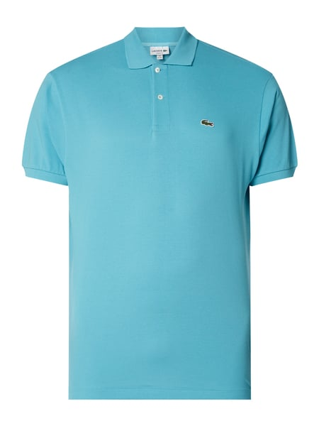 Lacoste Classic Fit Poloshirt mit Logo-Badge Türkis - 1