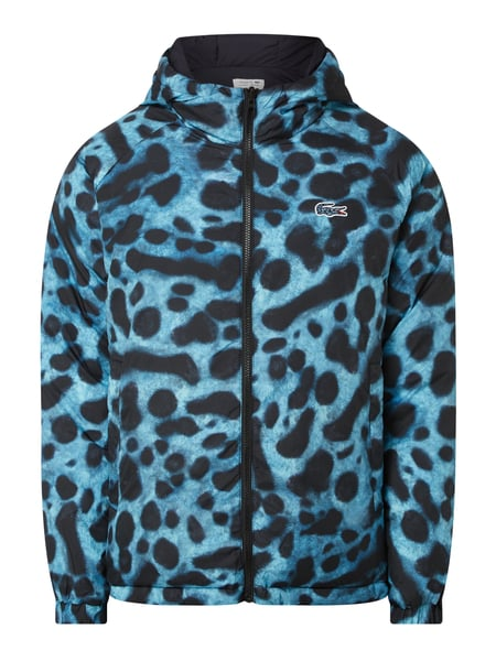 Lacoste LACOSTE x NATIONAL GEOGRAPHIC Wendejacke mit Animal-Print Blau - 1