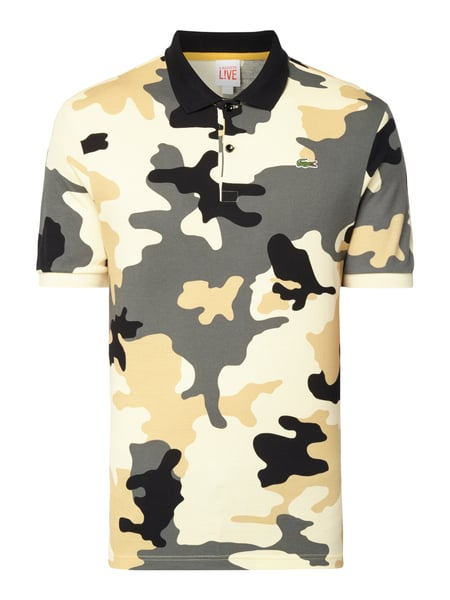 LACOSTE Poloshirt mit Camouflage-Muster in Gelb online kaufen ... 78ea1eabac