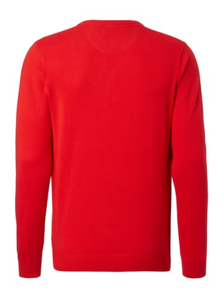 Lacoste Pullover aus Baumwolle Rot - 1