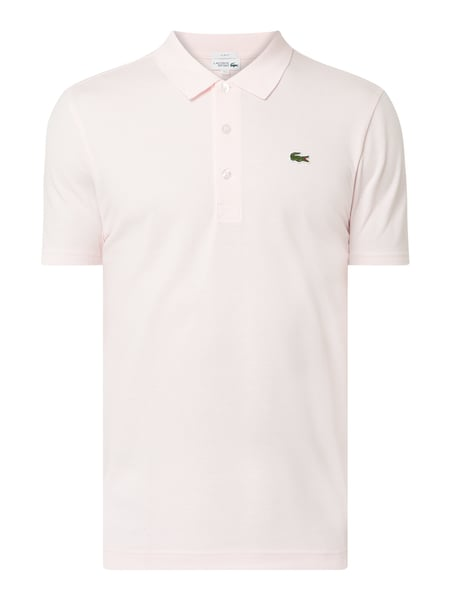 Lacoste Slim Fit Poloshirt mit Logo-Applikation Rosa - 1