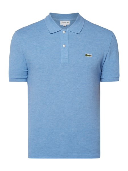 Lacoste Slim Fit Poloshirt mit Logo-Badge Blau - 1