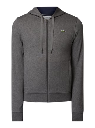 low priced f34b5 906b7 Lacoste Sweatjacke mit Kapuze