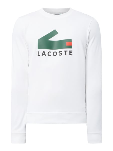 the latest b0951 9c429 Sweatshirt mit gummiertem Logo-Print