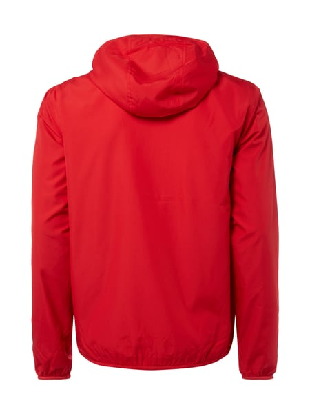 Rote lacoste jacke