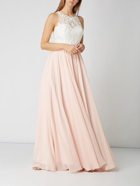 Abendkleid rosa rose