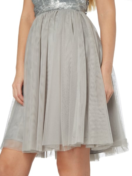Laona cocktailkleid silber