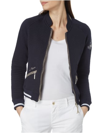 LArgentina Sweatblazer mit Steppmuster Marineblau - 1