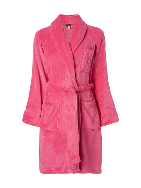 Lauren Ralph Lauren Bademantel aus Fleece Pink