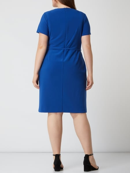 LAUREN RALPH LAUREN CURVE PLUS SIZE Kleid mit Stretch ...