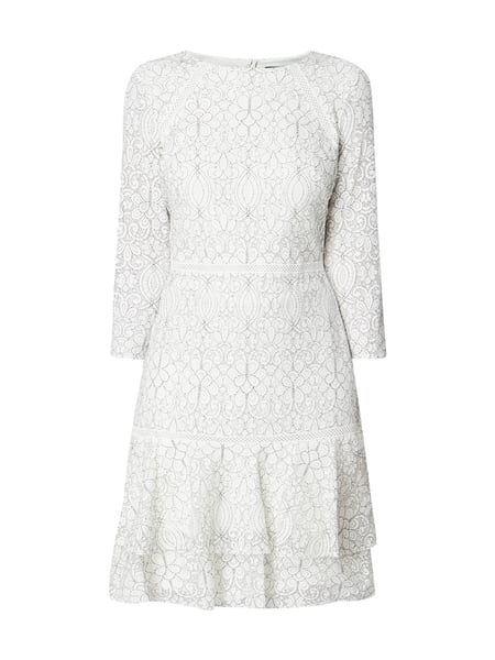 2018 shoes good quality outlet store Lauren Ralph Lauren – Kleid aus ornamentaler Spitze – Offwhite