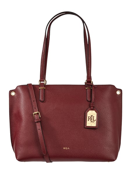 Lauren Ralph Lauren Shopper mit optionalem Schulterriemen Rot